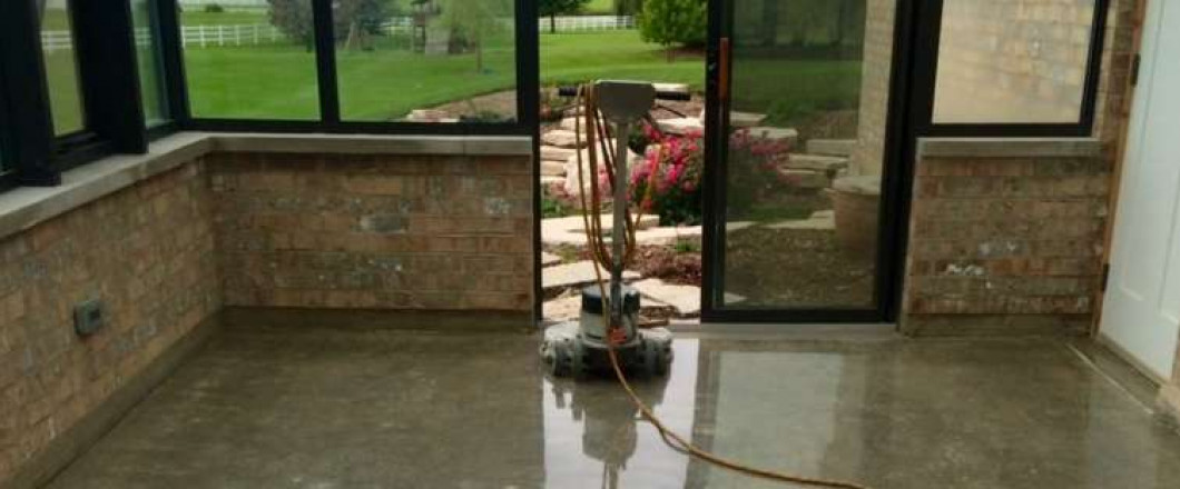 Allow Us To Take Care Of Your Sun Room With The Installation Of Polished Concrete