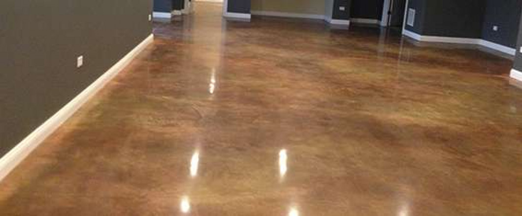 At James Concrete Polishing We Polish Basement Floors To Complete Your Space